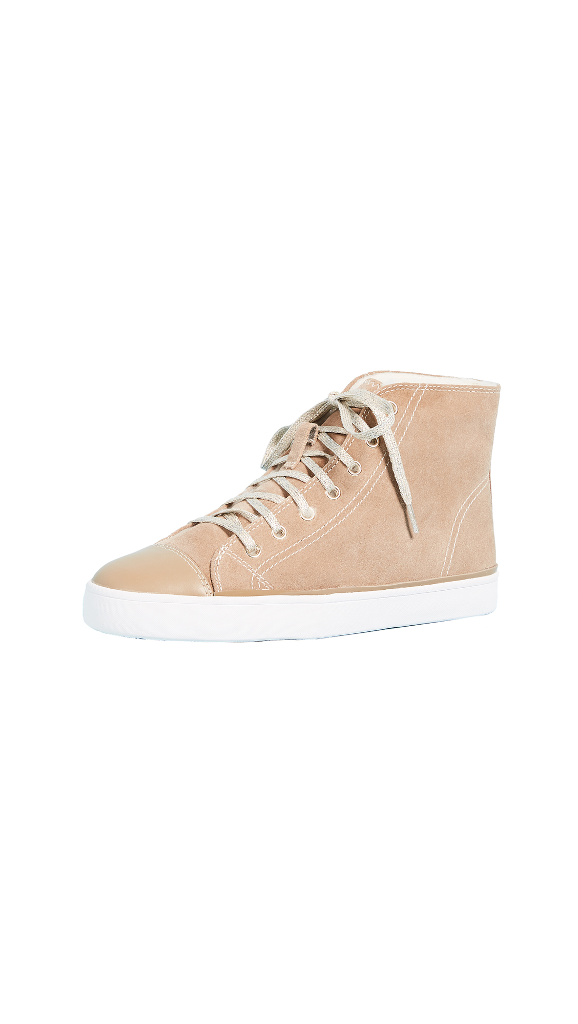 Kate Spade New York Lendal High Top Sneakers - Camel
