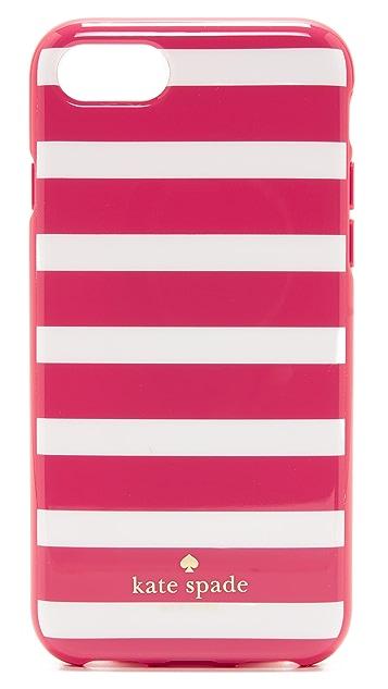 Kate Spade New York Fairmount Square Stripe iPhone 7 Case