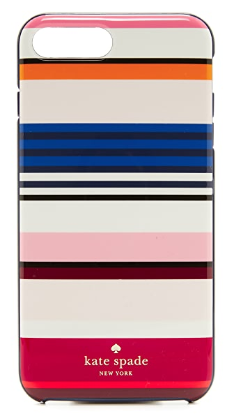Kate Spade New York Berber Stripe iPhone 7 Plus Case