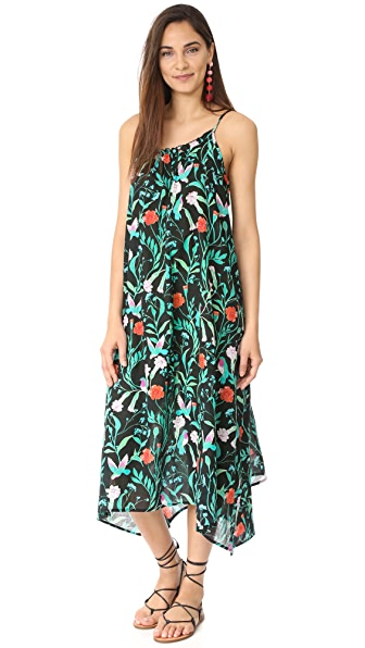 Kate Spade New York Cover Up Maxi Dress - Black