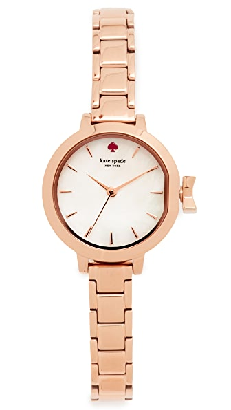 Kate Spade New York Mini Park Row Watch - Rose Gold/Mother of Pearl