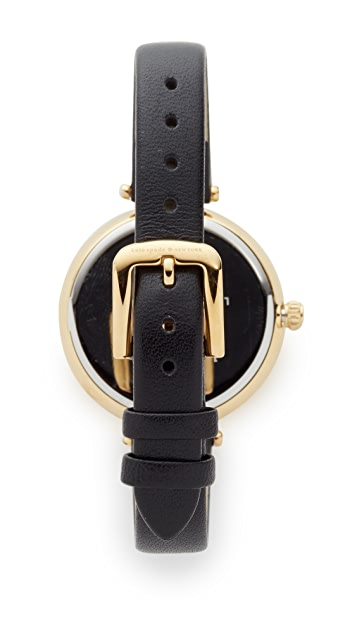 Kate Spade New York Novelty Leather Watch, 34mm