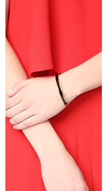 Kate Spade New York Do The Twist Hinged Bangle Bracelet