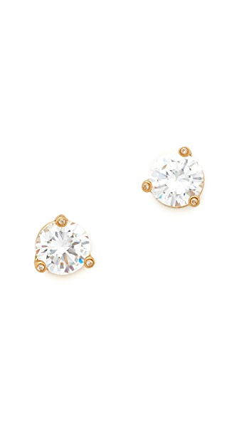 Kate Spade New York Rise & Shine Small Stud Earrings - Clear
