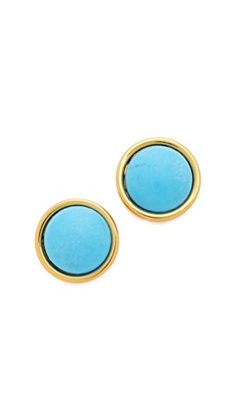 Kate Spade New York Forever Small Stud Earrings - Turquoise