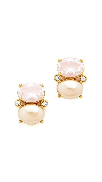 Kate Spade New York Shine On Drop Stud Earrings