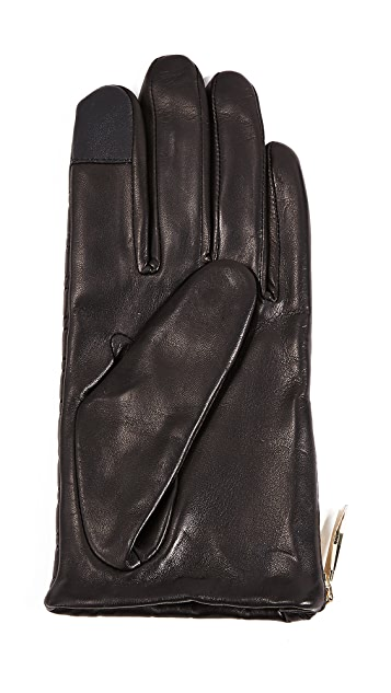 Kate Spade New York Bow Quilted Tech Gloves
