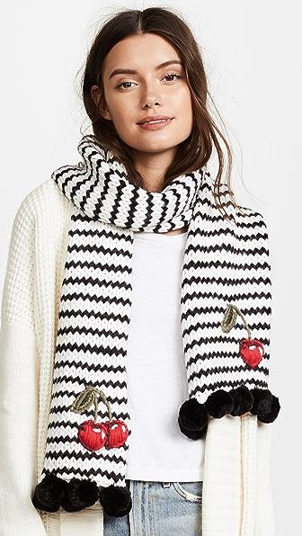 Kate Spade New York Hand Knit Cherie Muffler Scarf
