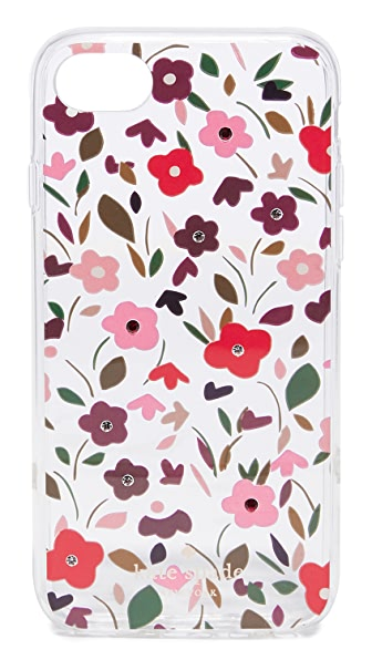 Kate Spade New York Jeweled Boho Floral Clear iPhone 7 Case