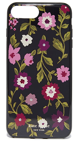 Kate Spade New York Jeweled In Bloom iPhone 7 Plus Case / 8 Plus Case In Black Multi