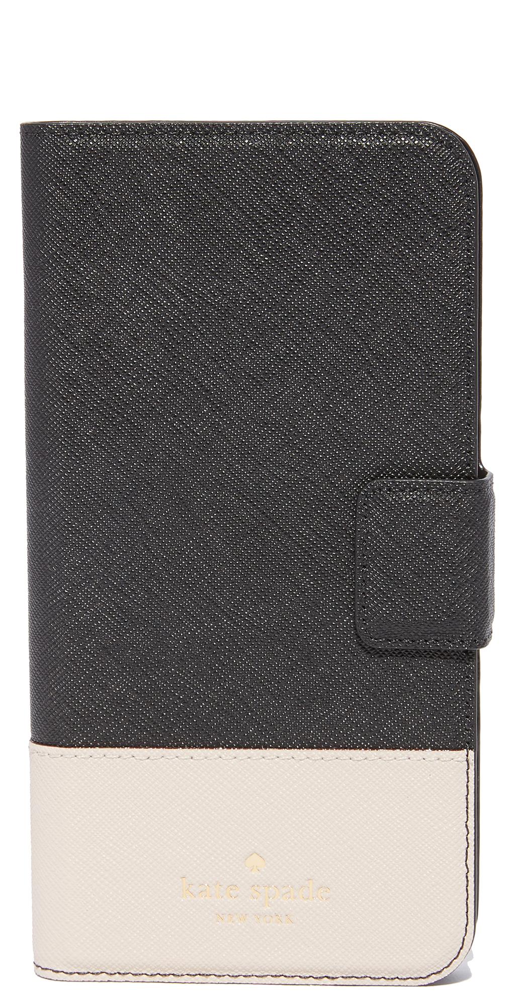 Leather Wrap Folio iPhone 7 Plus Case Kate Spade New York