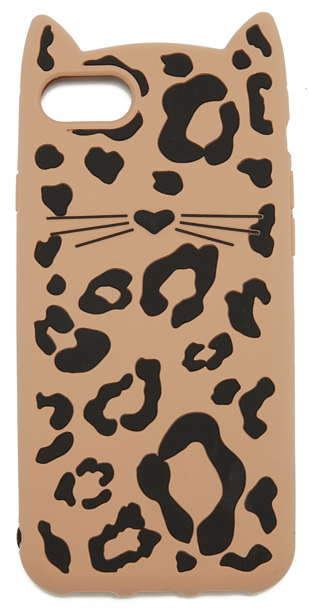 Silicone Cheetah Cat iPhone 7 Case Kate Spade New York