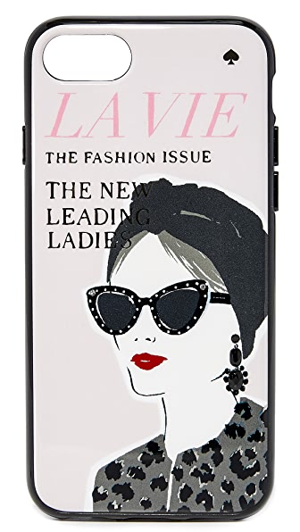 Kate Spade New York Jeweled Magazine iPhone 7 Case - Multi