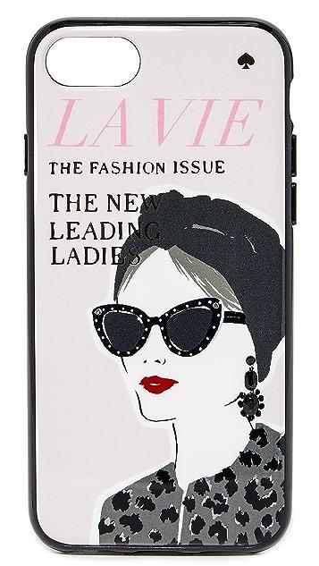 Kate Spade New York Jeweled Magazine iPhone 7 / 8 Case