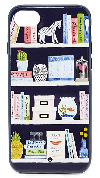 Kate Spade New York Library iPhone 7 Case - Blue Multi