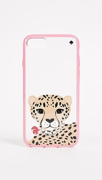Kate Spade New York Jeweled Cheetah iPhone 7 / 8 Case
