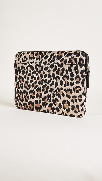 Kate Spade New York 13 Inch Leopard Laptop Sleeve