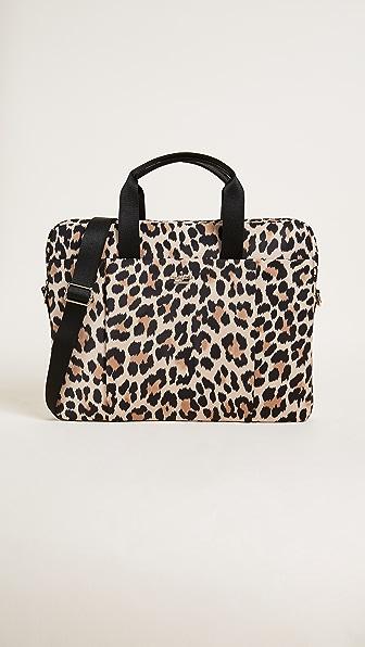 Kate Spade New York Leopard Laptop Commuter Bag