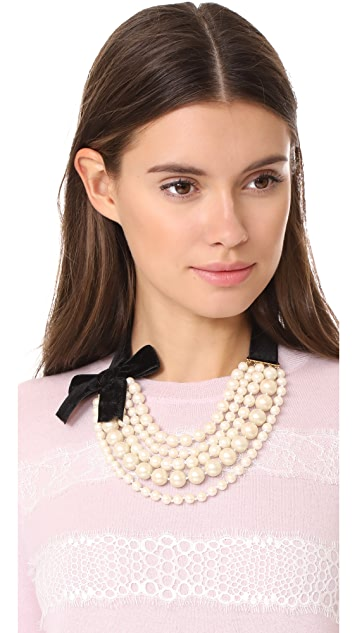 Kate Spade New York Girly Pearly Necklace