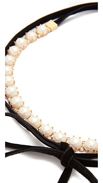 Kate Spade New York Girly Pearly Choker Necklace