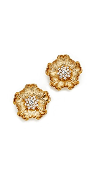 Kate Spade New York Precious Poppies Stud Earrings - Gold
