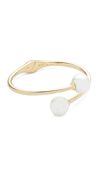 Kate Spade New York Golden Girl Bauble Cuff Bracelet - Cream
