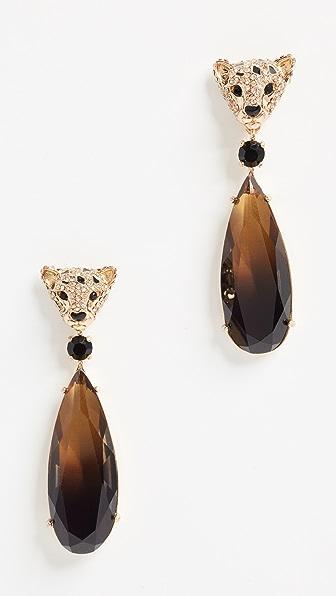 Kate Spade New York Run Wild Cheetah Drop Earrings