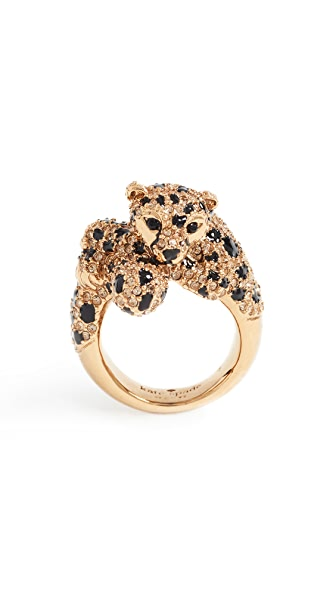 Kate Spade New York Run Wild Cheetah Ring In Multi