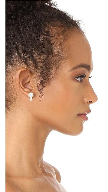 Kate Spade New York Bright Ideas Double Imitation Pearl Stud Earrings