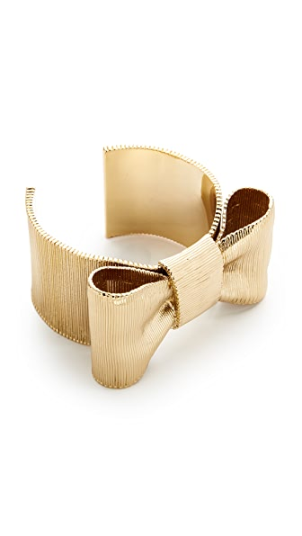 Kate Spade New York All Wrapped Up Bow Cuff Bracelet - Gold
