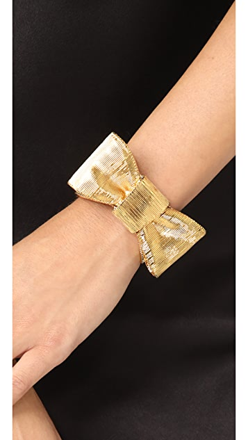 Kate Spade New York All Wrapped Up Bow Cuff Bracelet