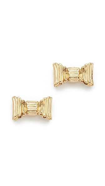 Kate Spade New York All Wrapped Up Stud Earrings - Gold