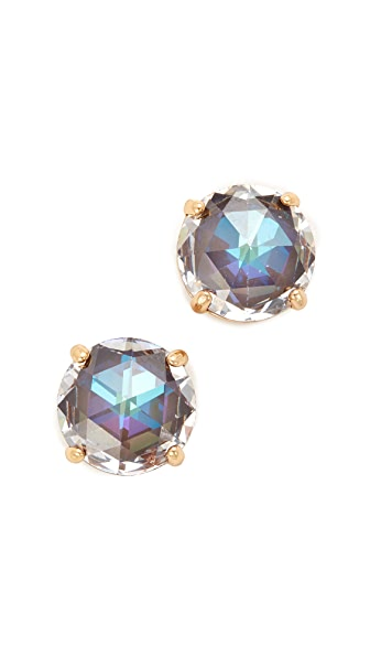 Kate Spade New York Bright Ideas Stud Earrings In Smokey Topaz