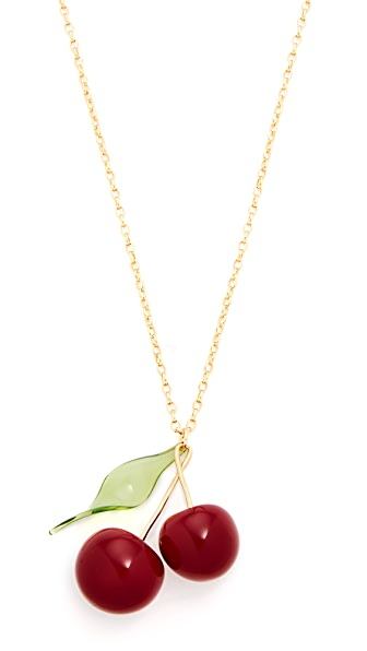 Kate Spade New York Ma Cherie Cherry Pendant Necklace