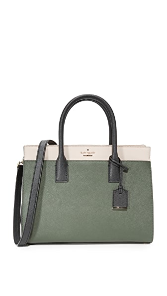 Kate Spade New York Cameron Street Candace Satchel - Evergreen