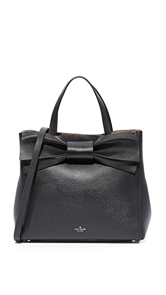 Kate Spade New York Olive Drive Brigette Satchel - Black