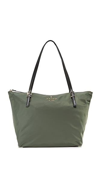 Kate Spade New York Watson Lane Maya Nylon Tote - Evergreen