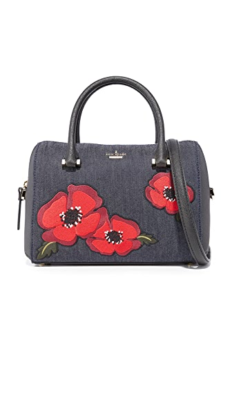 Kate Spade New York Cameron Street Poppy Large Lane Satchel - Port Blue