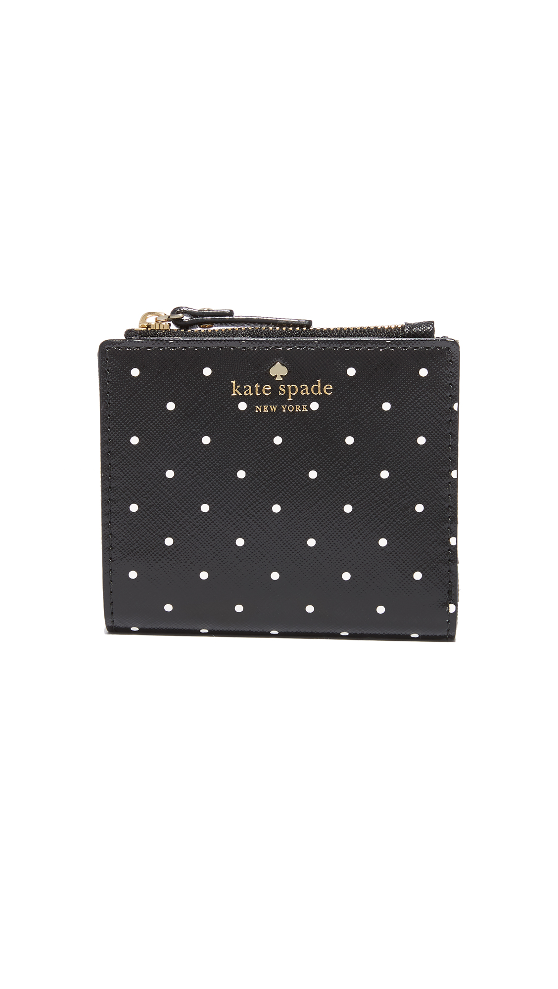 Kate Spade New York Brooks Drive Adalyn Wallet - Black/Cream