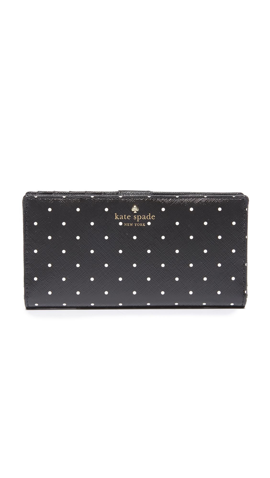Kate Spade New York Brooks Drive Stacy Wallet - Black/Cream