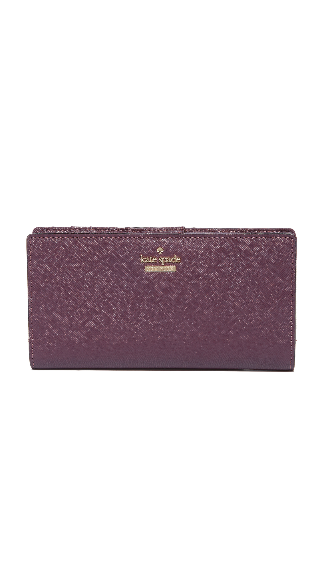 Kate Spade New York Cameron Street Stacy Wallet - Deep Plum