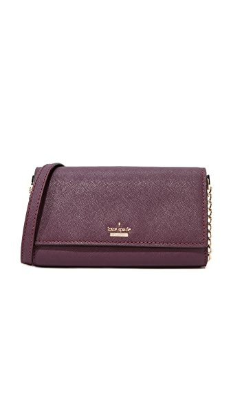 Kate Spade New York Cameron Street Corin Cross Body Bag - Deep Plum