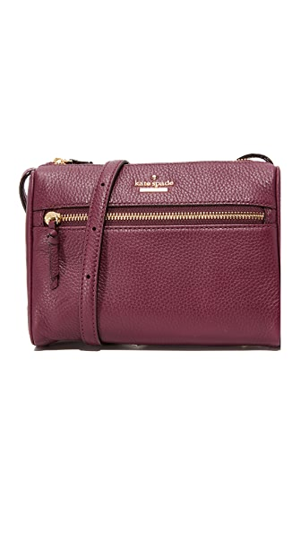 Kate Spade New York Jackson Street Mini Cayli Cross Body Bag - Plum