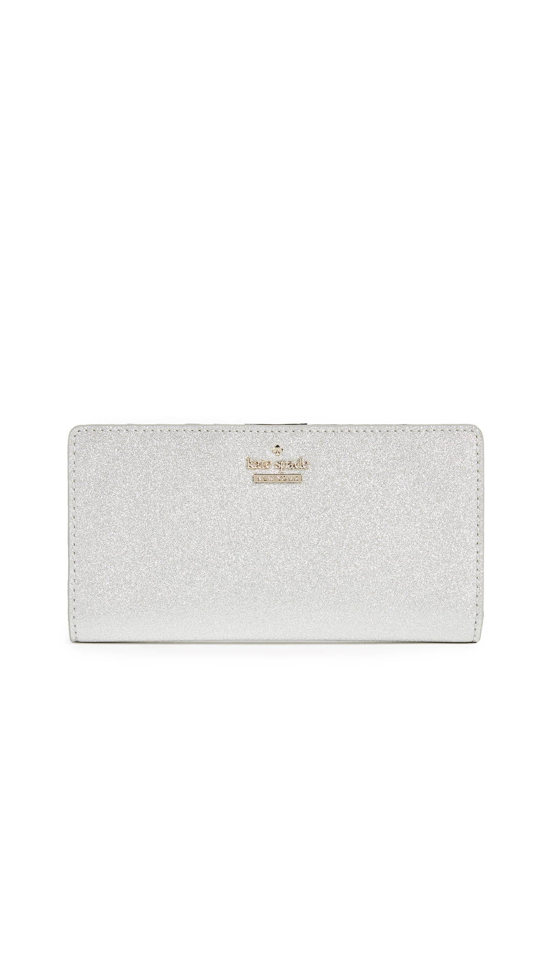 Kate Spade New York Burgess Court Stacy Wallet - Silver