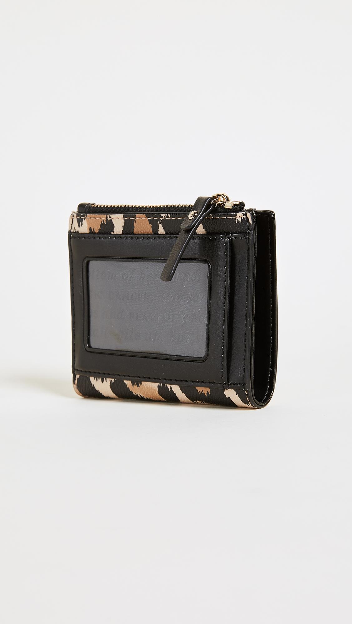 5f9c118e0a18 Kate Spade New York Hyde Lane Leopard Adalyn Wallet   SHOPBOP