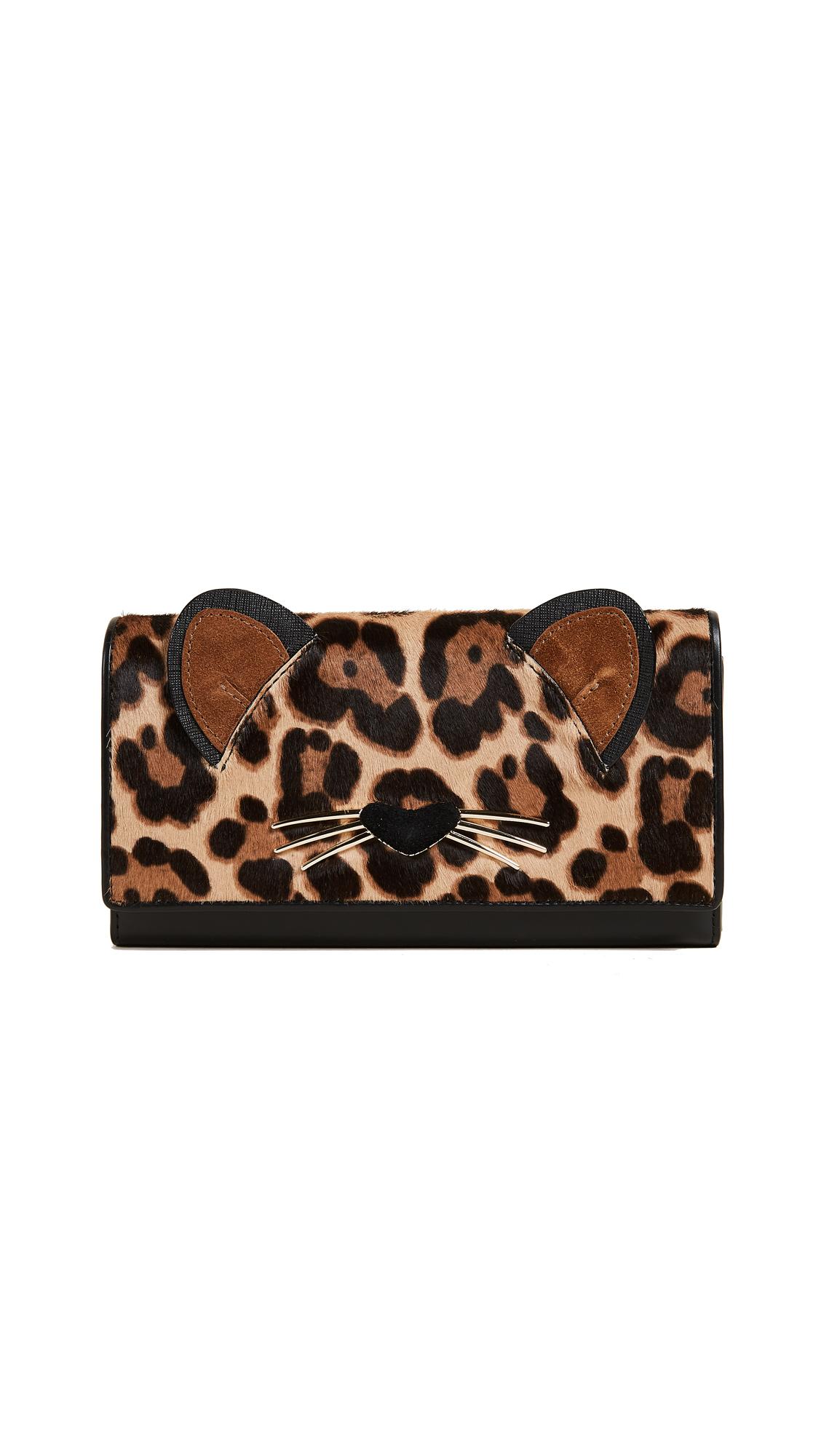 Kate Spade New York Leopard Dagney Wallet - Multi