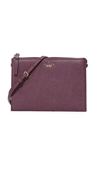 Kate Spade New York Dilon Cross Body Bag - Deep Plum