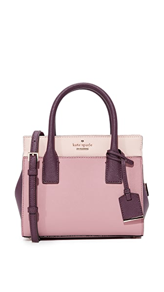 Kate Spade New York Cameron Street Mini Candace Satchel - Dusty Peony Multi