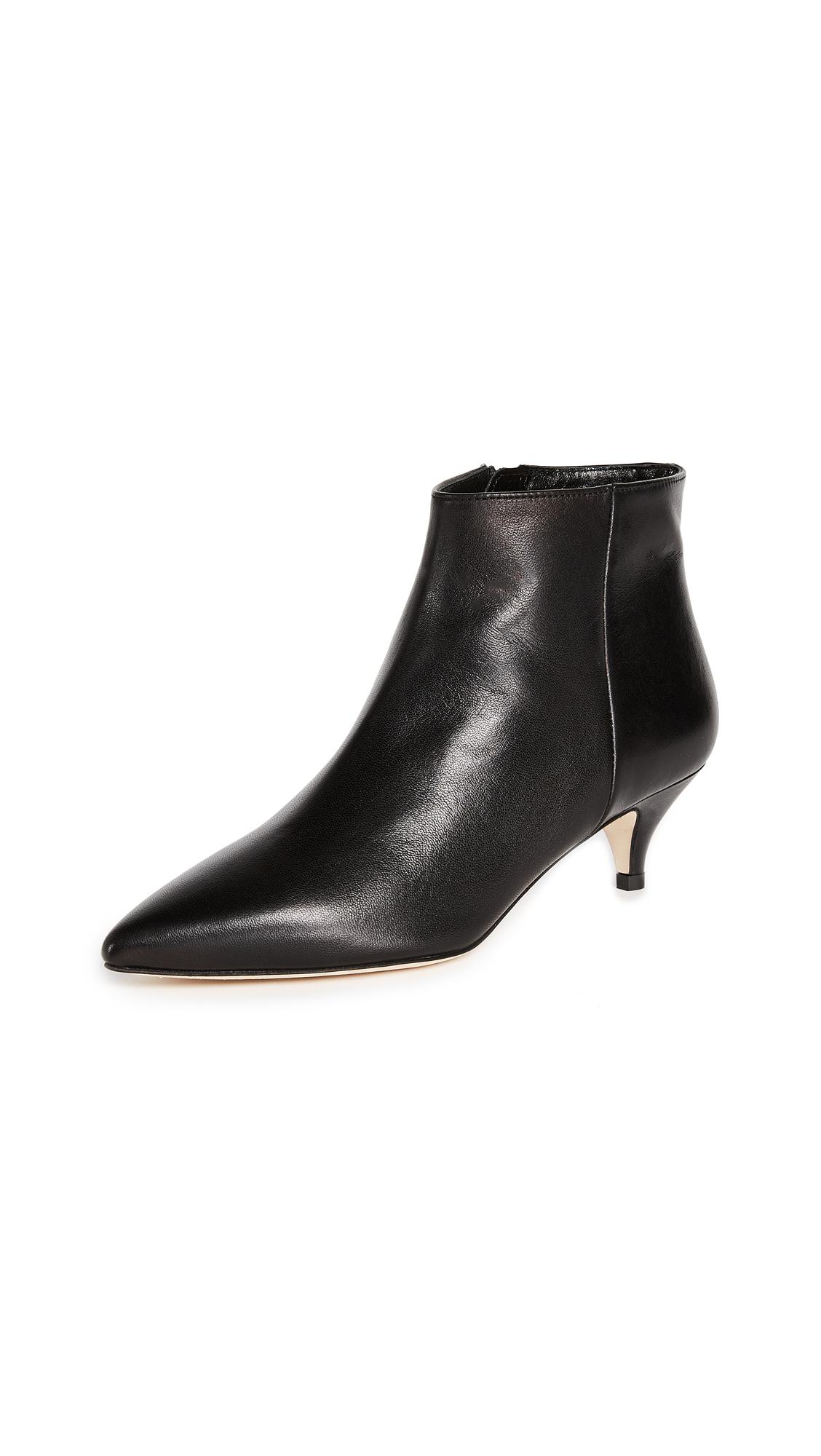 Kate Spade New York Olly Kitten Heel Ankle Booties - Black