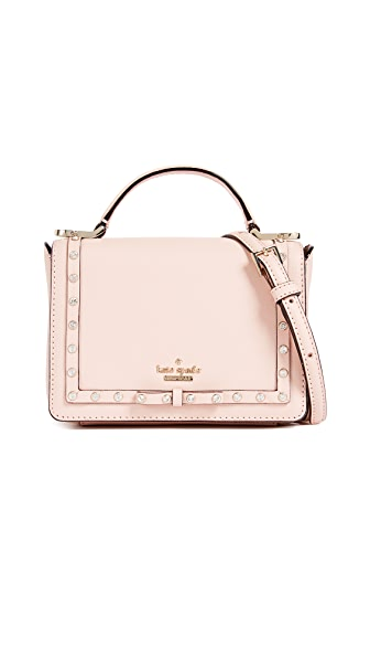 Kate Spade New York Cameron Street Embellished Hope Mini Top Handle Bag In Warm Vellum